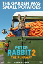 Plakat filmu Piotruś Królik 2: Na gigancie