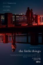 Plakat filmu The Little Things