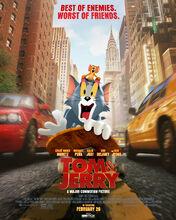 Movie poster Tom & Jerry